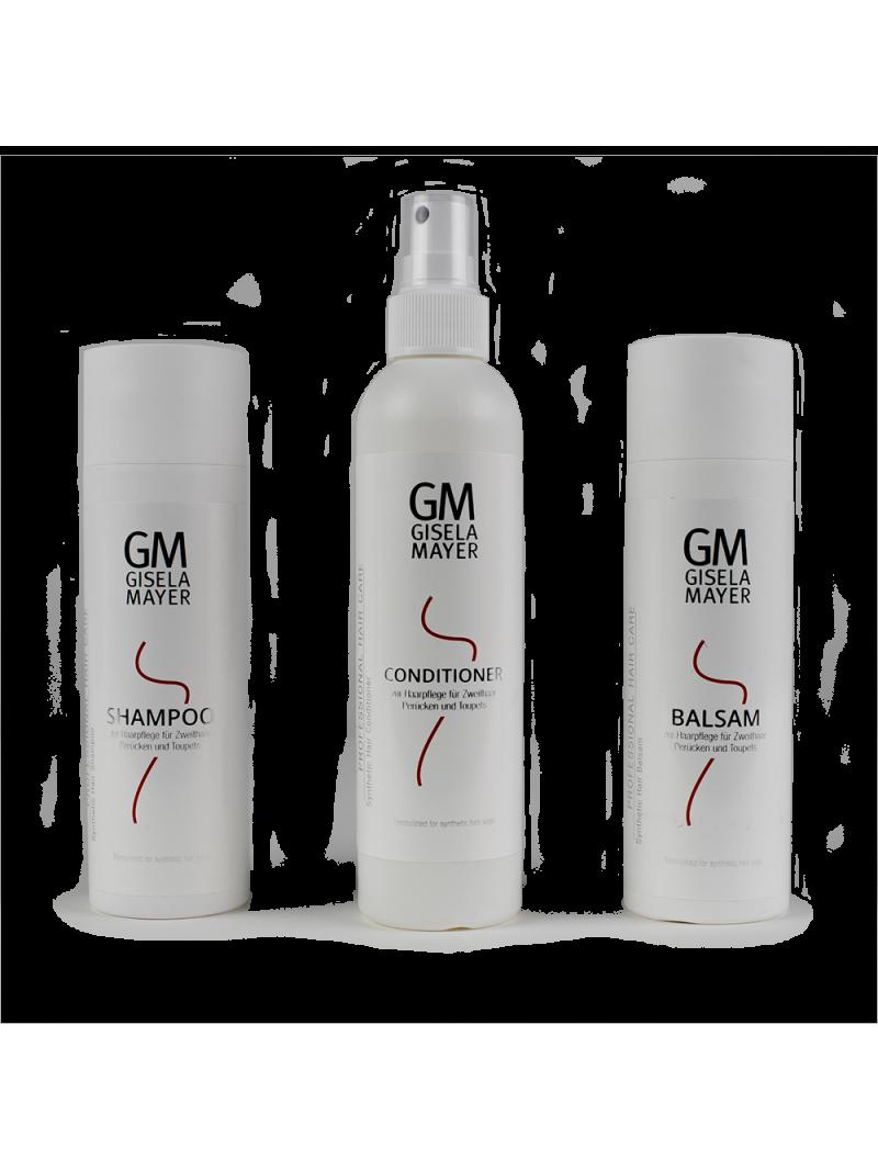 Kit entretien pour cheveux synthétiques Gisela Mayer 3x200 ML