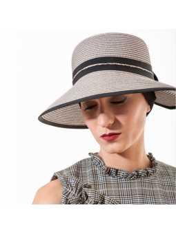 Chapeau d'été en papier Morgane - beige
