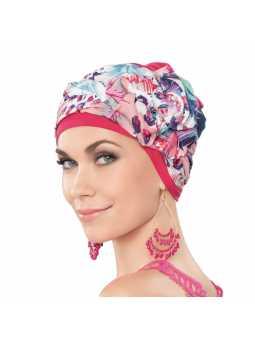 Turban chimiothérapie Garbo- Pink