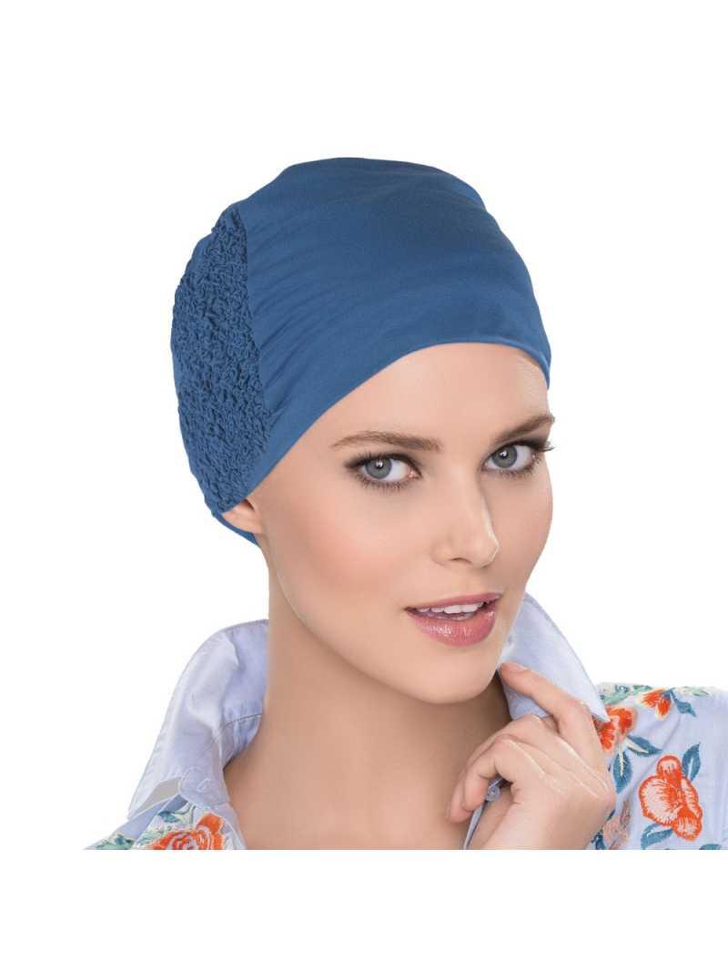 Bonnet chimiothérapie Elsa -jeans