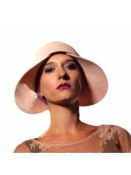 Chapeau d'été Valentin  - Rose