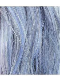Perruque synthétique longue wavy Tabu - iceblue