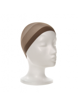 Sous bonnet nylon Ellen Wille marron