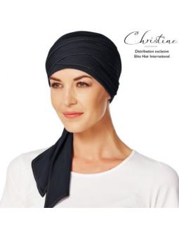 Turban foulard chimiothérapie Bambou denim