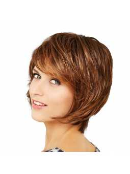 Perruque synthétique courte lisse Cosmo Club Hair B