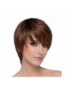 Perruque naturelle courte lisse Award - chocolate mix