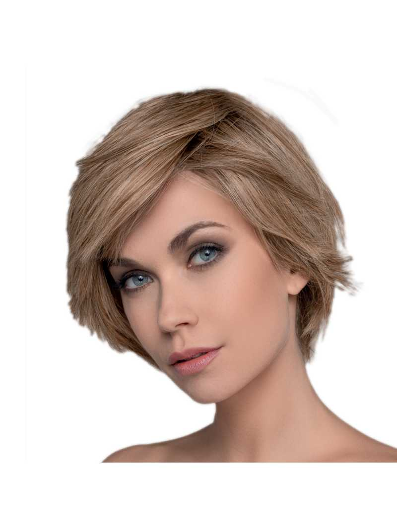 Perruque naturelle courte lisse Flavour - Sand Rooted