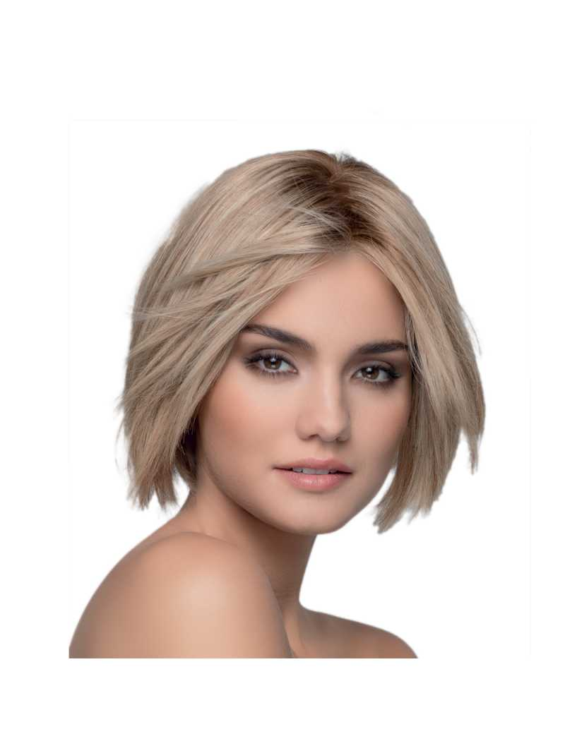 Perruque naturelle courte Wish -sandyblonde rooted
