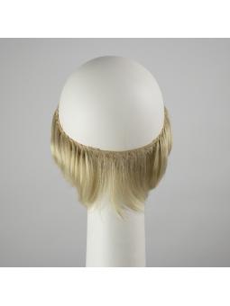 Couronne de cheveux synthétiques lisses courts Mint - LightBlonde