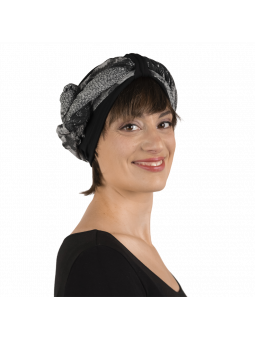 Box Joie Frana foulard, frange et bonnet de chimiothérapie