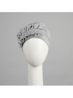 Bonnet en fibre de bambou Océane gris chiné