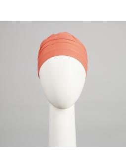 Bonnet  chimiothérapie Lola Sun  - corail