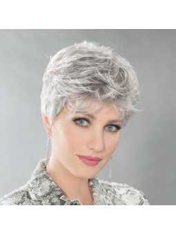 Perruque Synthétique Courte Wavy Dot - silvergrey mix