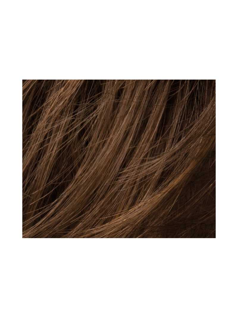 Perruque mi longue lisse fibres naturelles Rush : chocolate  mix 8.30.6