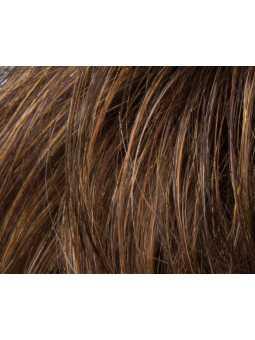 Perruque mi longue lisse fibres naturelles Rush : mocca rooted 830.27.12