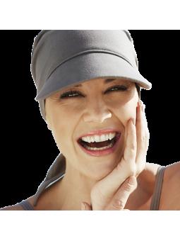 Bandana solaire de chimiothérapie protection UV Praline