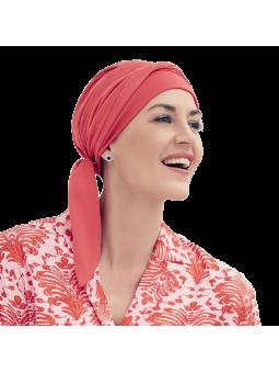 Turban foulard de chimiothérapie Naos Grenade