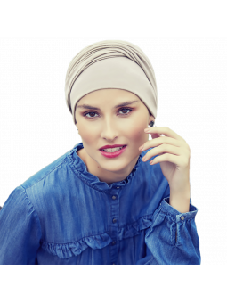 Bonnet chimiothérapie Zoya Viva calin perle