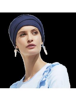 Bonnet chimiothérapie Kaya Viva denim