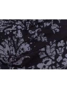 Bonnet chimiothérapie Tala en coton Ellen Wille - Black grey