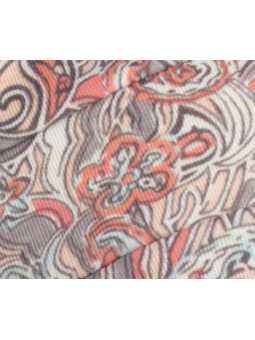 Bonnet chimiothérapie Tala en coton Ellen Wille - Flora taupe