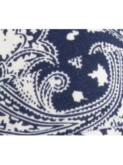 Bonnet chimiothérapie Tala en coton Ellen Wille - Ornament blue