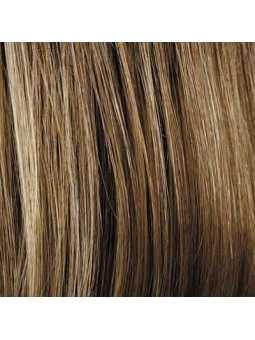 Perruque courte lisse mix fibres naturelles Elisa - bernstein