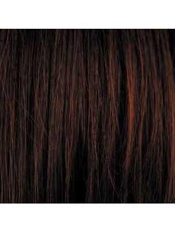 Perruque courte lisse mix fibres naturelles Elisa - hotchilli