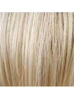 Perruque courte lisse mix fibres naturelles Elisa - lightchampagne