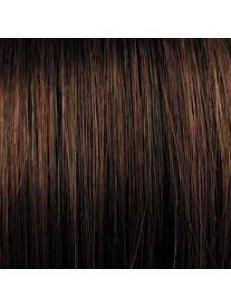 Perruque synthétique mi longue lisse Alizée - hotchocolate