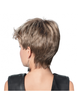Perruque synthétique courte lisse Stay