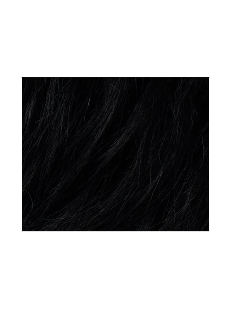 black- Perruque synthétique carré lisse Smoke Hi Mono