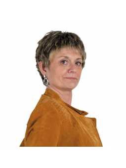 Perruque synthétique courte lisse Myriam - bernstein