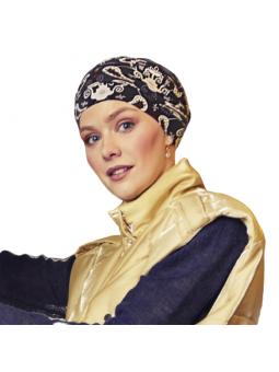 Bonnet chimiothérapie en bambou Yoga Zen coloris Favori