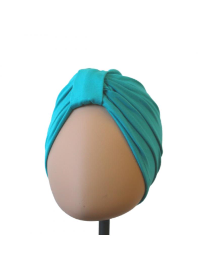 Bonnet de chimiothérapie Lou en bambou Turquoise