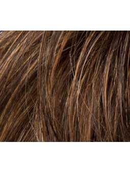 mocca rooted- Perruque synthétique courte lisse Apart Mono