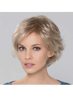 Perruque synthétique courte lisse Date- champagne mix