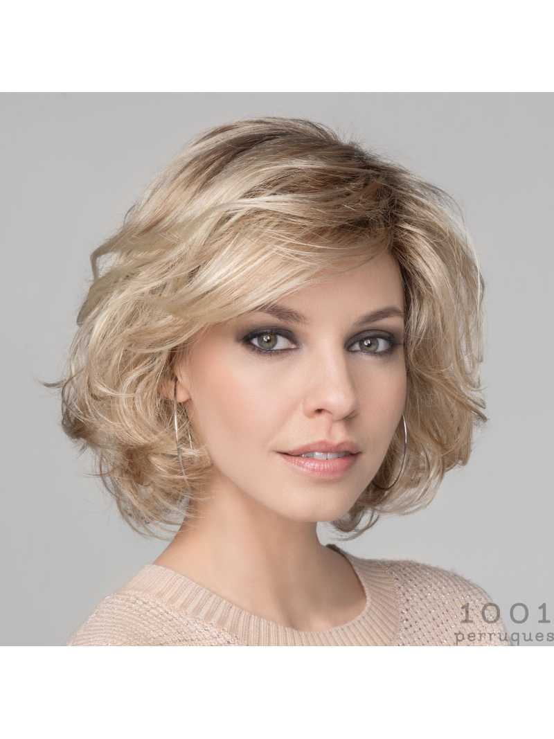 Perruque synthétique carré wavy Wave deluxe- champagne rooted