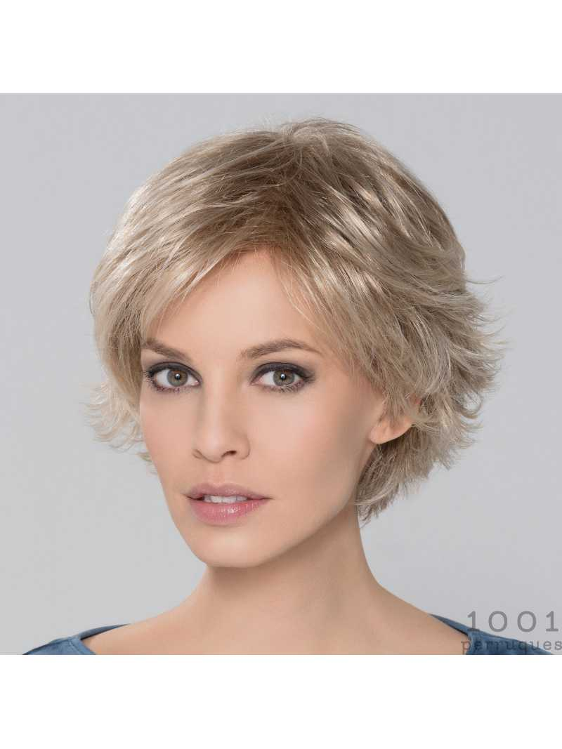 Perruque synthétique courte lisse Date Large-champagne mix