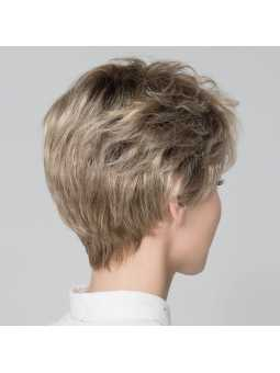 Perruque synthétique courte lisse Alba Comfort- champagne rooted