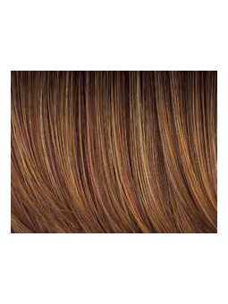 Softcooper rooted 30.28.27 - Perruque naturelle carré long lisse Trinity plus