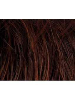 darkauburn- Perruque synthétique courte lisse Date Large
