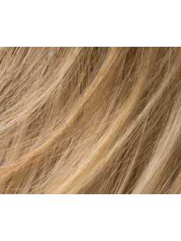 caramel rooted-Perruque synthétique courte lisse Club 10