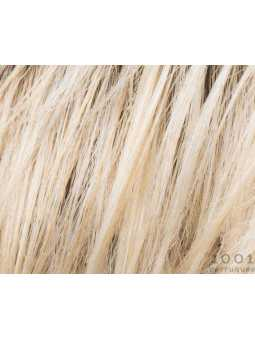 Champagne rooted 20.26.25 - Perruque synthétique courte lisse Island mono