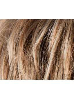 lightbernstein rooted- Perruque synthétique courte lisse Flip mono