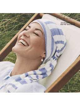 Turban foulard chimiothérapie Adora Lin - Mykonos
