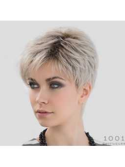 Perruque synthétique courte lisse Love Comfort- lightchampagne rooted