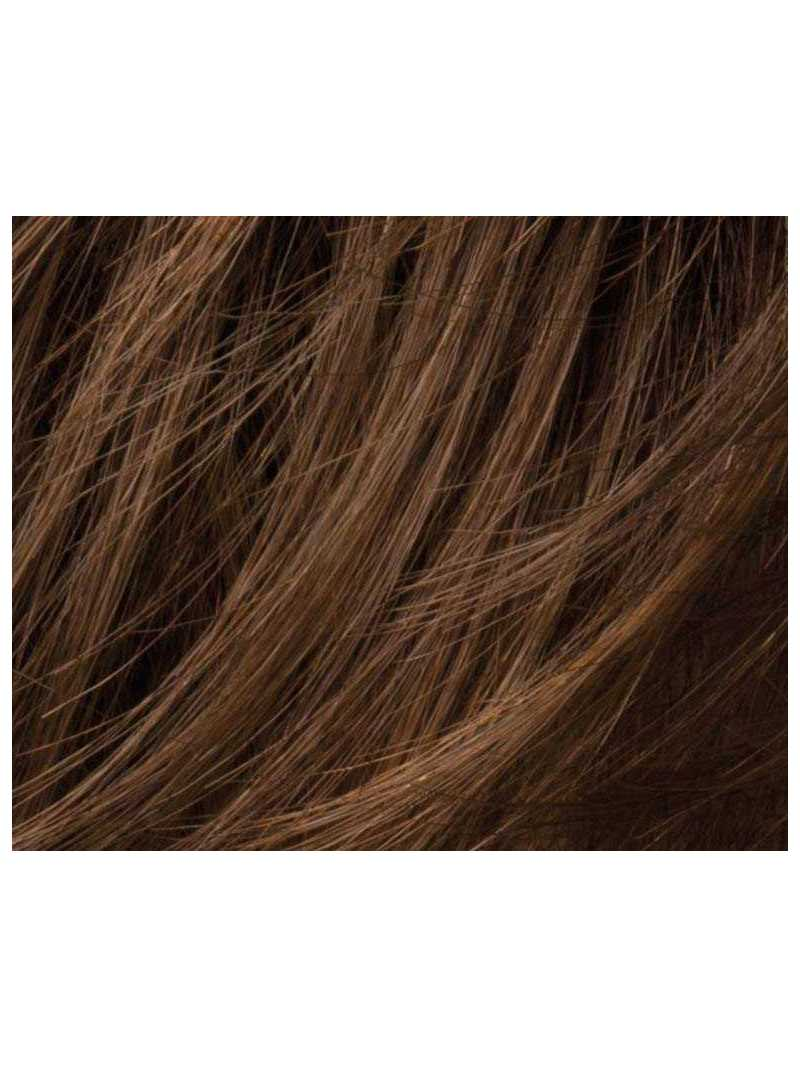 chocolate mix-Perruque synthétique courte lisse Ginger small