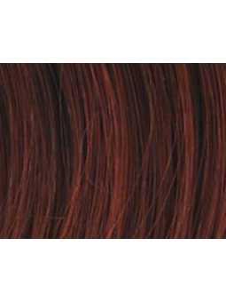auburn mix- Perruque synthétique courte lisse Zizi