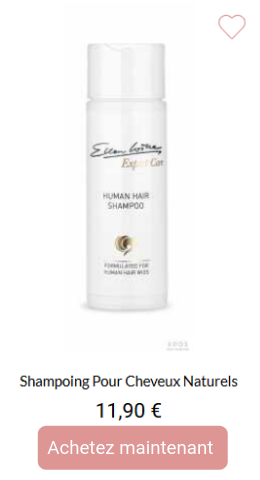 Shampoing pour cheveux naturels